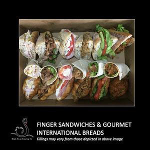 Platter Sandwiches Breads